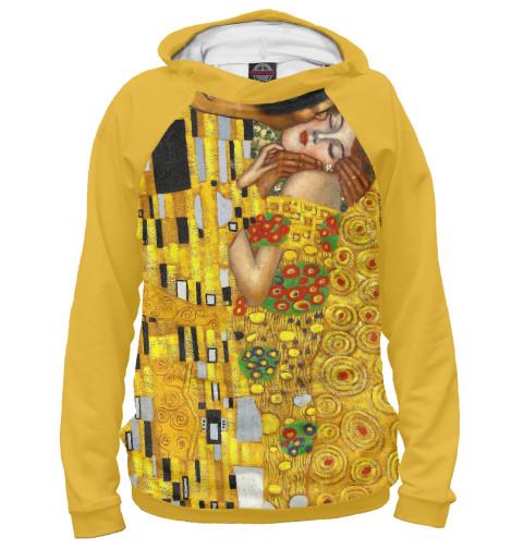 Худи Print Bar Густав Климт. Поцелуй женская сумка шопер с принтом коричневая коллекция elole design поцелуй густав климт нат кожа