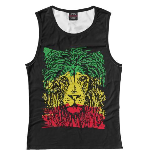Майка Print Bar Rasta Lion проводные наушники marley smile jamaica rasta em je041 ra