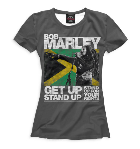 Женская футболка Bob Marley