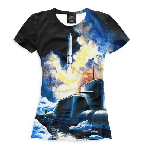 Женская футболка Субмарина