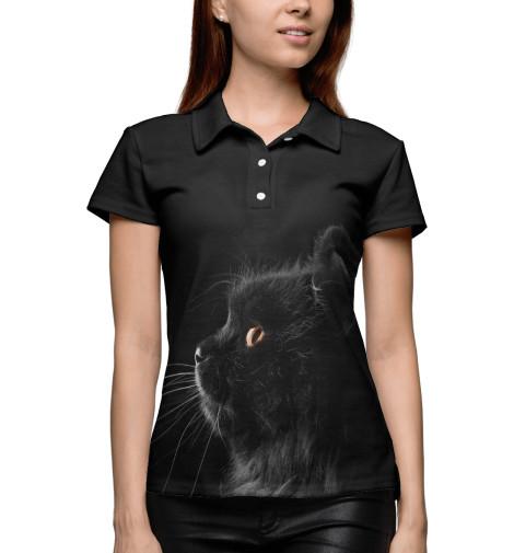 Купить Женское поло кот CAT-630895-pol-1