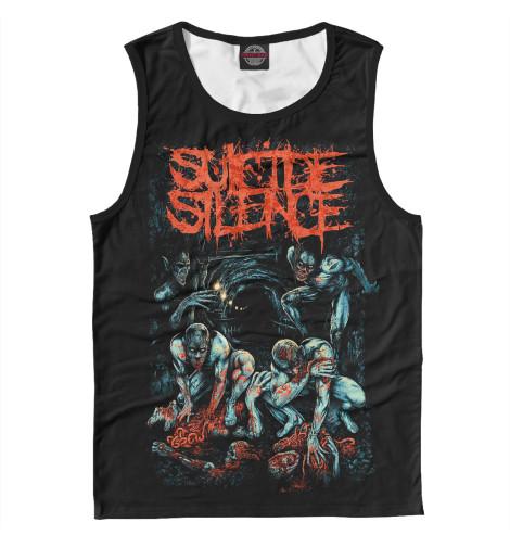 Майка Print Bar Suicide Silence майка борцовка print bar suicide silence