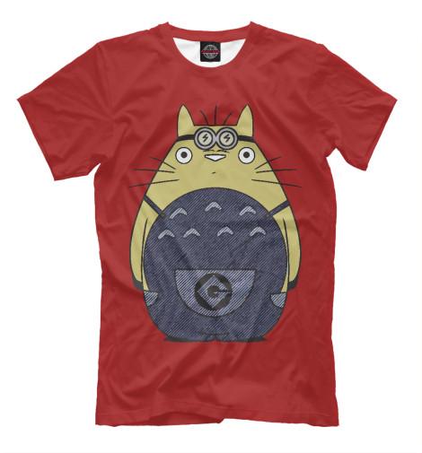 Футболка Print Bar Minion Totoro футболка print bar minion mummy