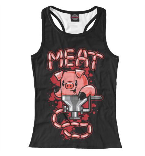 Майка борцовка Print Bar Мясо