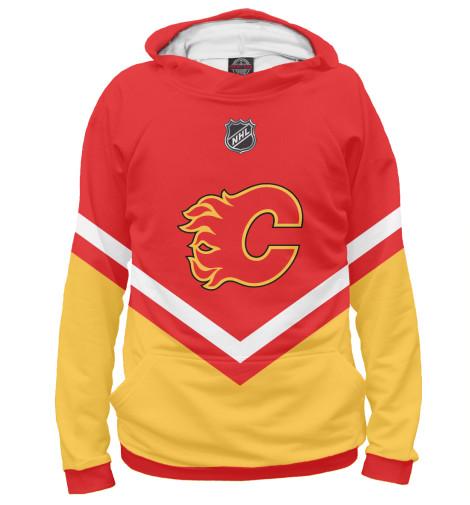 Худи Print Bar Calgary Flames fannin the flames