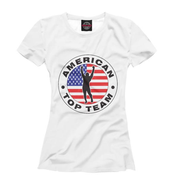 Купить Футболка для девочек American Top Team MNU-730226-fut-1