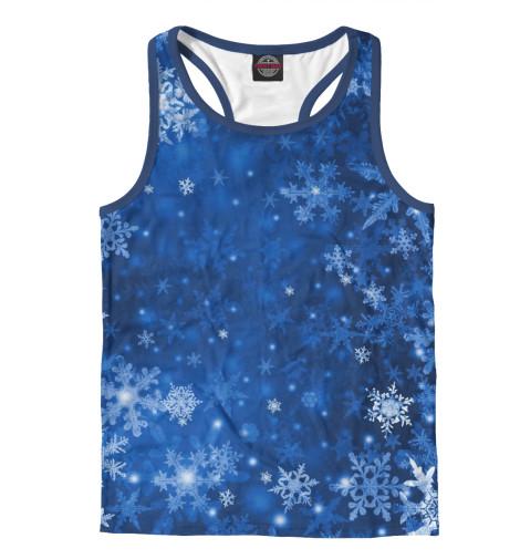 Майка борцовка Print Bar Снежинки костюм маленькой снежинки 32