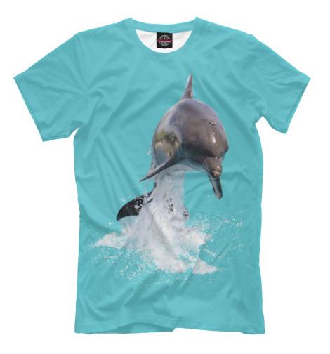 Футболка Print Bar Прыжок дельфина свитшот print bar два дельфина