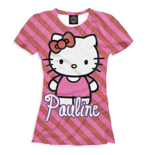Женская футболка Полина