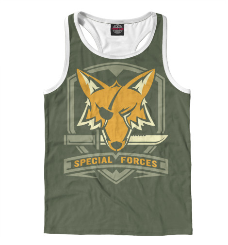 Майка борцовка Print Bar Special Forces Foxhound майка print bar special forces foxhound