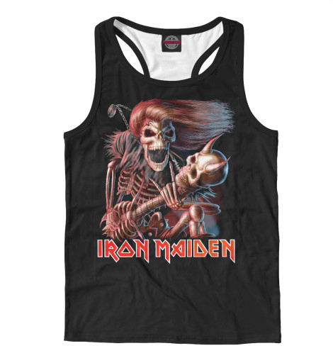Майка борцовка Print Bar Iron Maiden cd iron maiden a matter of life and death