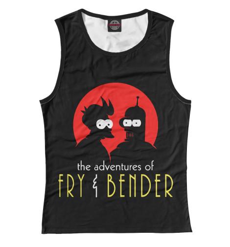 Майка Print Bar Fry & Bender