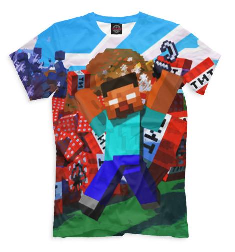 Мужская футболка Minecraft MCR-695131-fut-2  - купить со скидкой