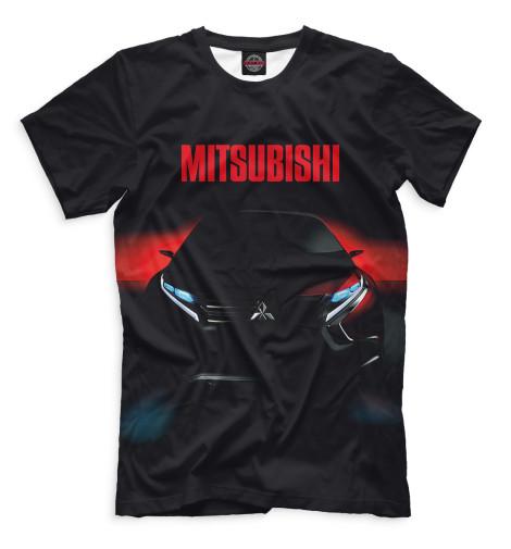 Футболка Print Bar Mitsubishi mitsubishi 100
