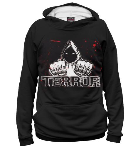 Худи Print Bar Hardcore terror свитшот print bar hardcore terror