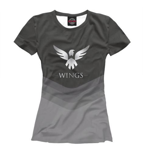 Футболка Print Bar Wings Team худи print bar pokemon go valor team