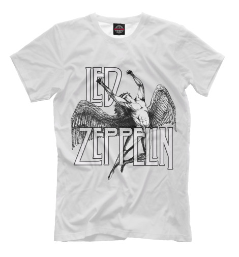 Футболка Print Bar Led Zeppelin виниловая пластинка led zeppelin led zeppelin 3lp