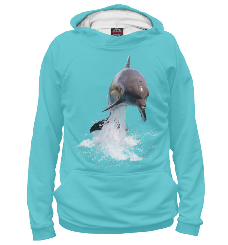 Худи Print Bar Прыжок дельфина свитшот print bar два дельфина