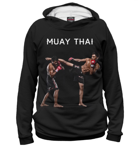 Худи Print Bar Муай Тай китайская школа боевых искусств самозащита муай тай