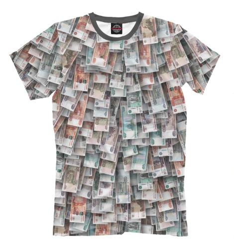 Футболка Print Bar Российские деньги