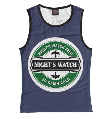 Майка Print Bar Nights Wacth white nights