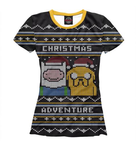 Футболка Print Bar Christmas Adventure все цены