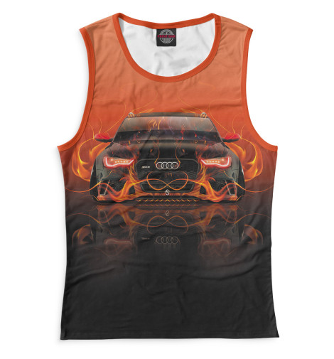 Женская майка Audi RS6