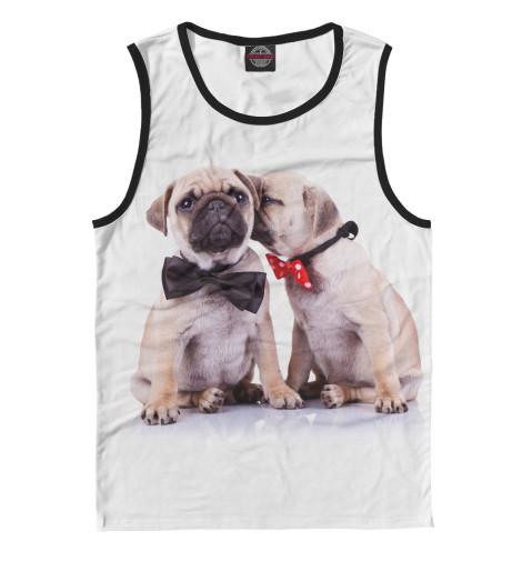 Майка Print Bar Мопсы эксмо мопсы йорки и другие собачки той пород