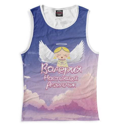 Майка Print Bar Валерия — настоящий ангелочек футболка print bar валерия настоящий ангелочек