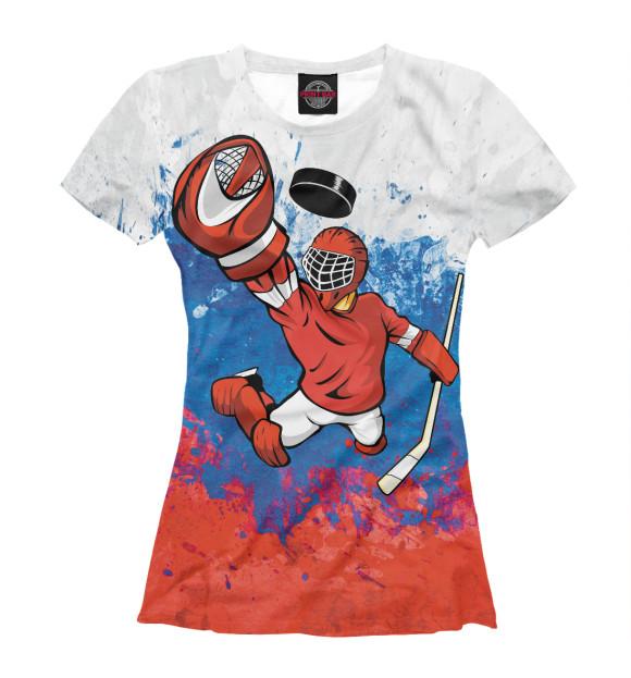 Купить Футболка для девочек Вратарь HOK-426727-fut-1