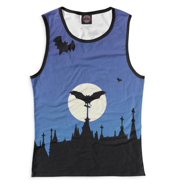 Купить Женская майка Halloween HAL-301129-may-1