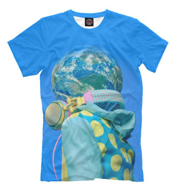 Купить Мужская футболка Шар PSY-592171-fut-2