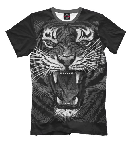 Футболка Print Bar Tiger Rage футболка print bar barbarian rage