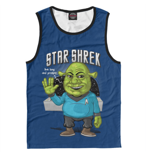 Майка Print Bar Star Shrek cougar 530m army green