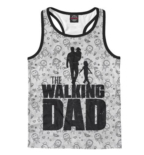 Майка борцовка Print Bar Walking Dad