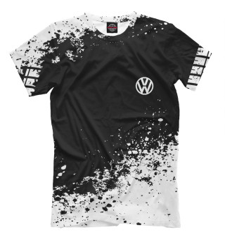 Мужская футболка Volkswagen abstract sport uniform