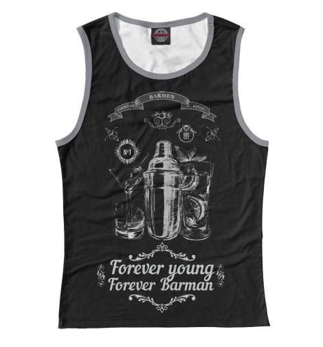Майка Print Bar Forever young, forever Barman корректирующая одежда forever s forever s