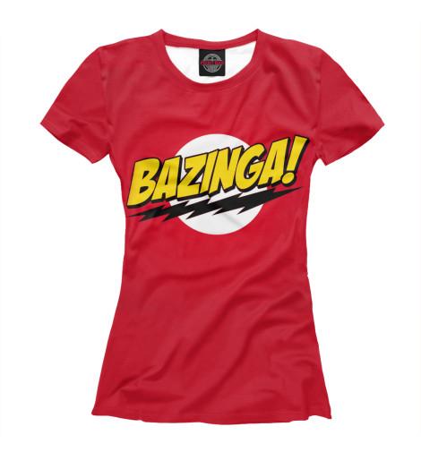 Купить Футболка для девочек Bazinga TEO-417621-fut-1