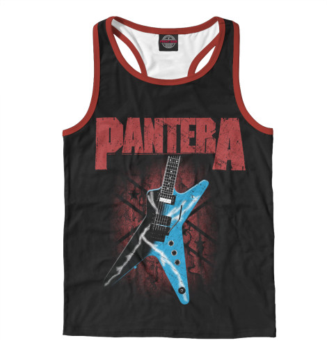Майка борцовка Print Bar Pantera pantera pantera reinventing hell the best of pantera cd dvd