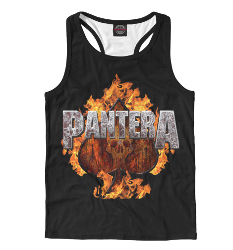Майка борцовка Print Bar Pantera Spades of Fire худи print bar pantera cowboys from hell