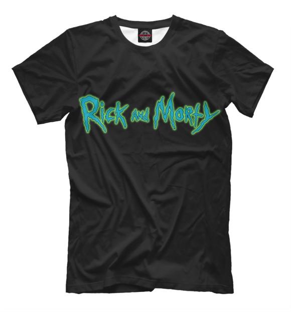 Купить Футболка для мальчиков Rick and Morty RNM-469821-fut-2