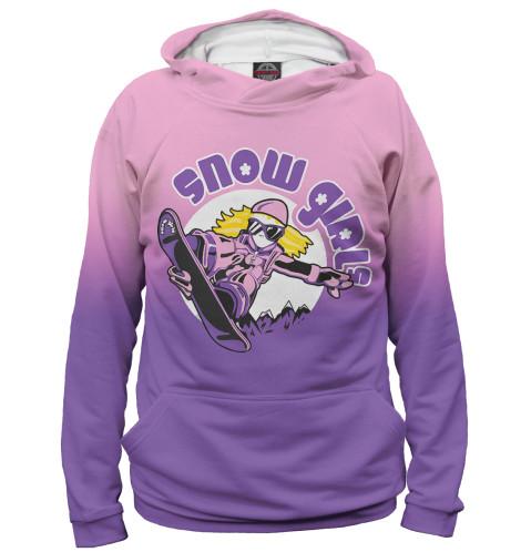 Худи Print Bar Snow Girls girls 100