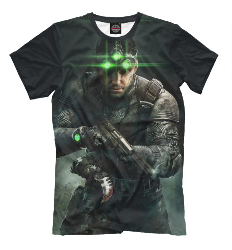 Футболка Print Bar Splinter Cell: Blacklist — Сэм Фишер tom clancy's splinter cell 3d
