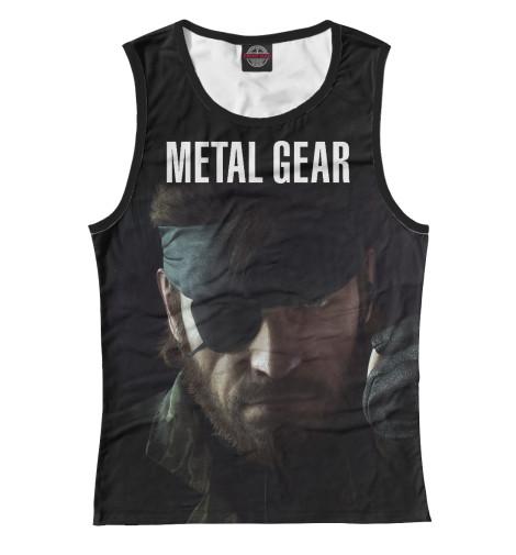 Майка Print Bar Metal Gear свитшот print bar metal gear