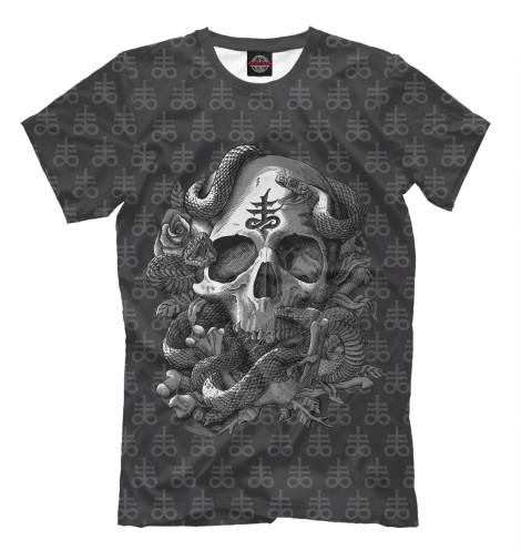 Футболка Print Bar Satan Skull худи print bar skull