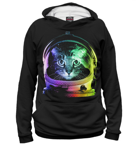Худи Print Bar Space Cat лонгслив printio космо кот space cat page 2