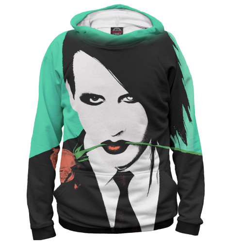 Женское худи Marilyn Manson