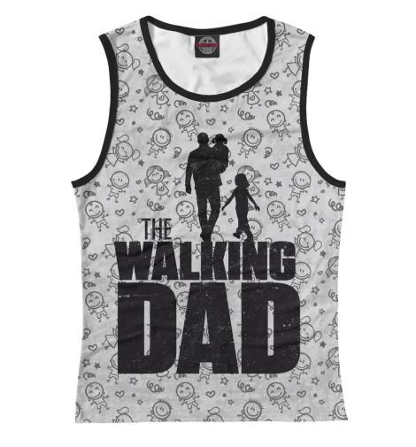 Майка Print Bar Walking Dad