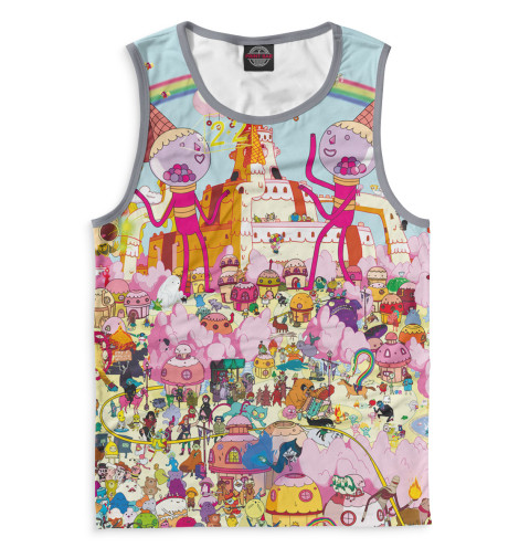 Купить Мужская майка Adventure Time ADV-595383-may-2