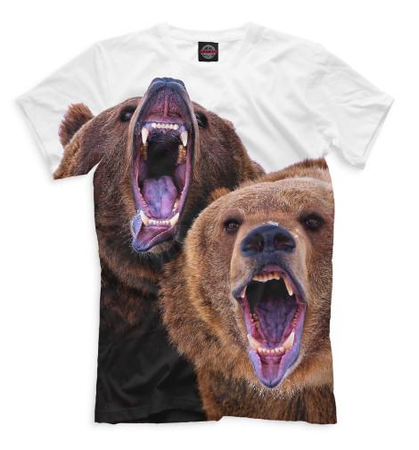 Мужская футболка Медведи